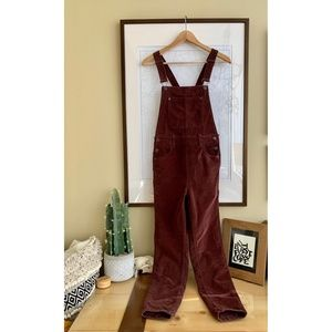 Anthropologie We The Free Corduroy Overalls
